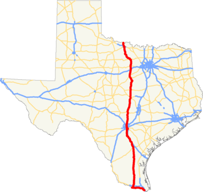 US 281 TX map.png