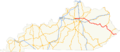US 460 KY map.png