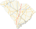US 601 SC map.png