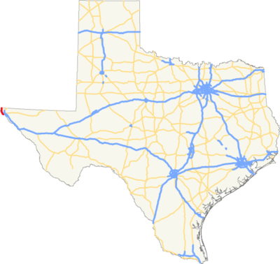 US 85 TX map.png