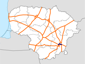 Vilnius Southern Bypass map.png