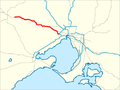Western Freeway Melbourne map.png